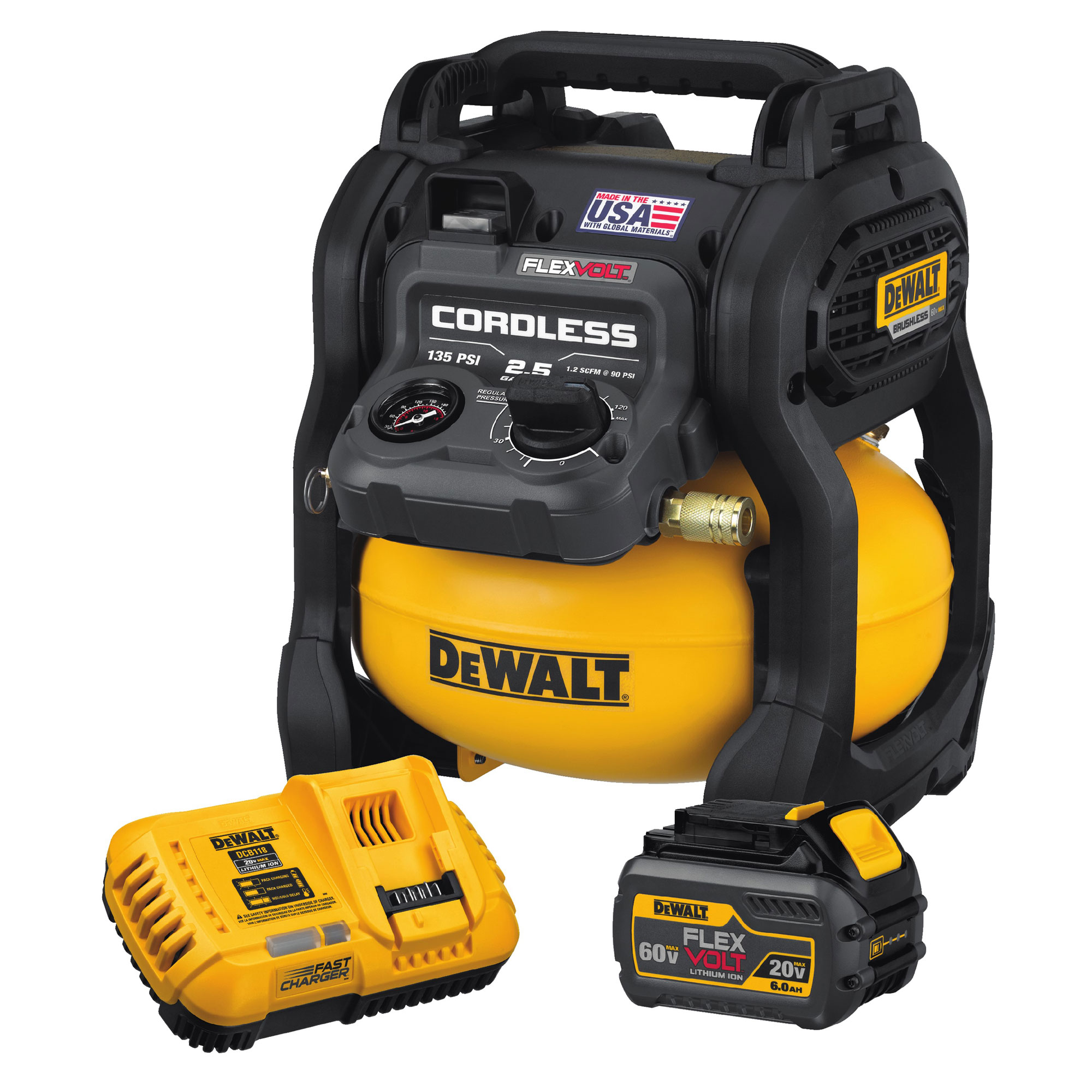 Portable Compressor From Dewalt Concrete Construction