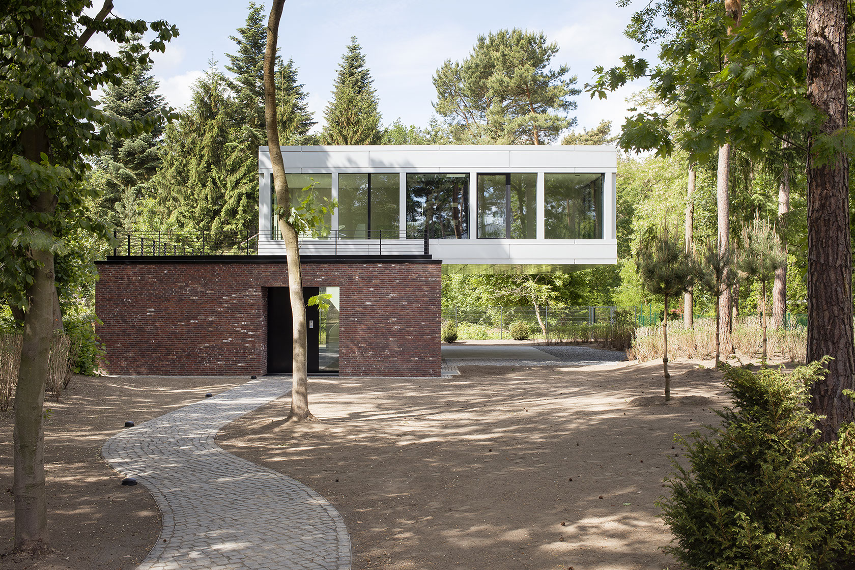 villa near potsdam residential architect nps tchoban
