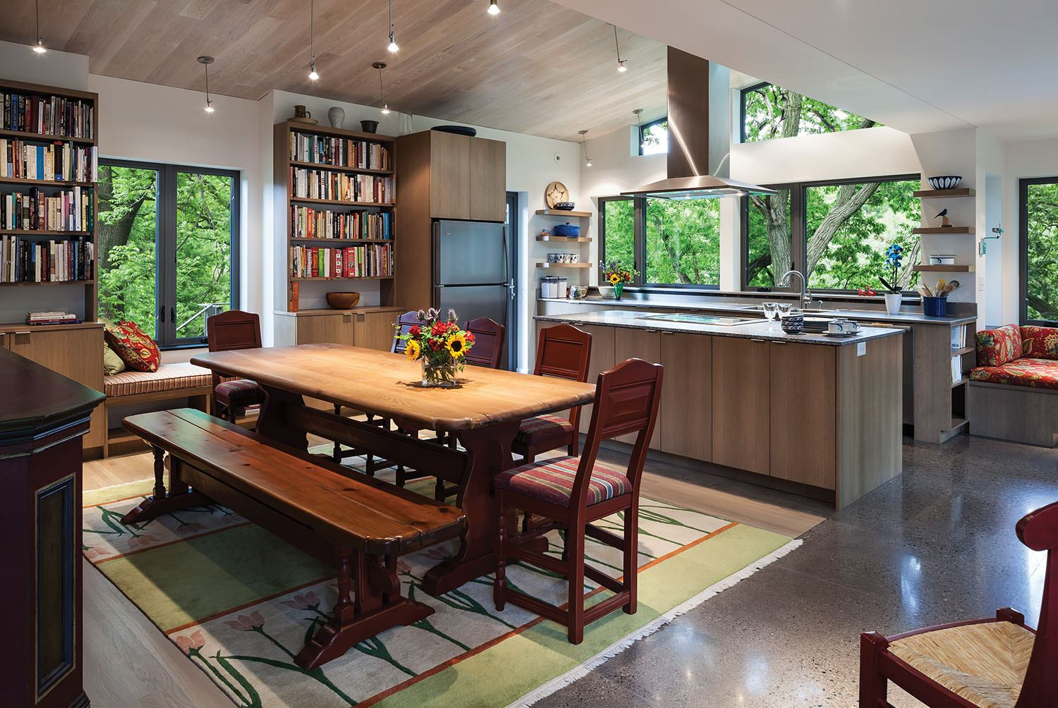 The Garden Kitchen Simple Pleasures Custom Home Magazine Design Architects Cost