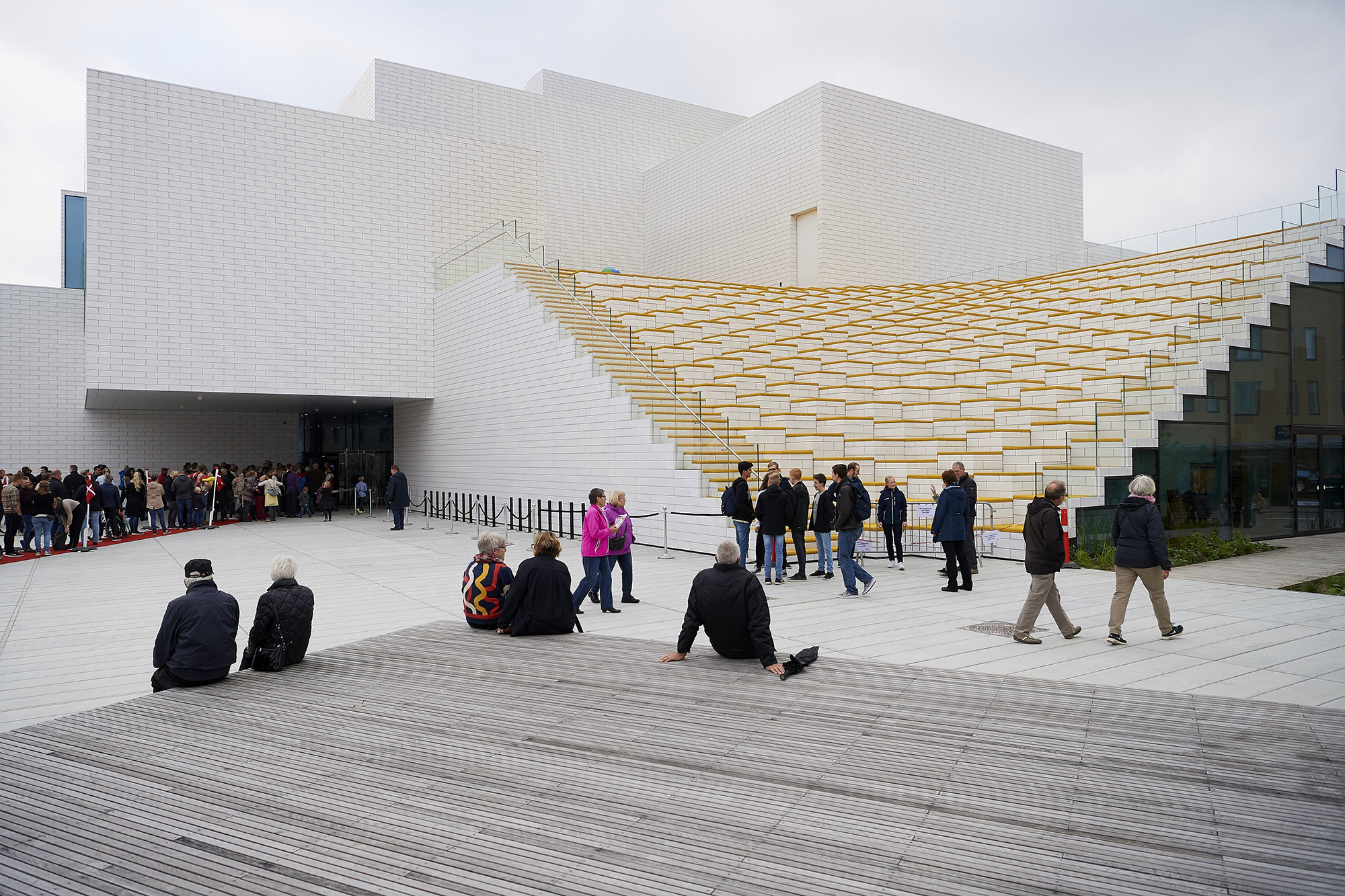 Top Ten Architects Big S Lego House Opens Today Architect Magazine