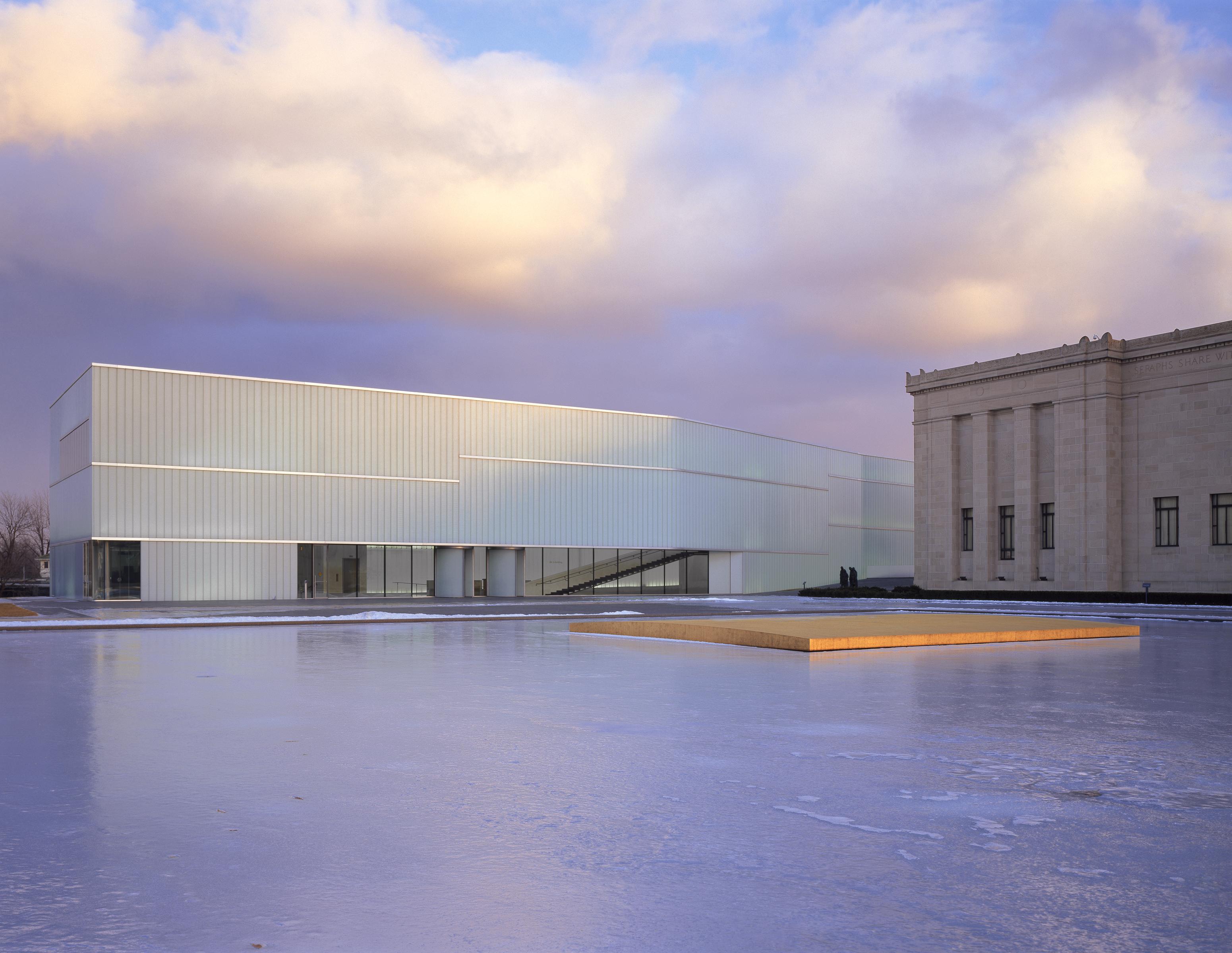 bloch building   nelson atkins museum  art architect magazine kansas city mo