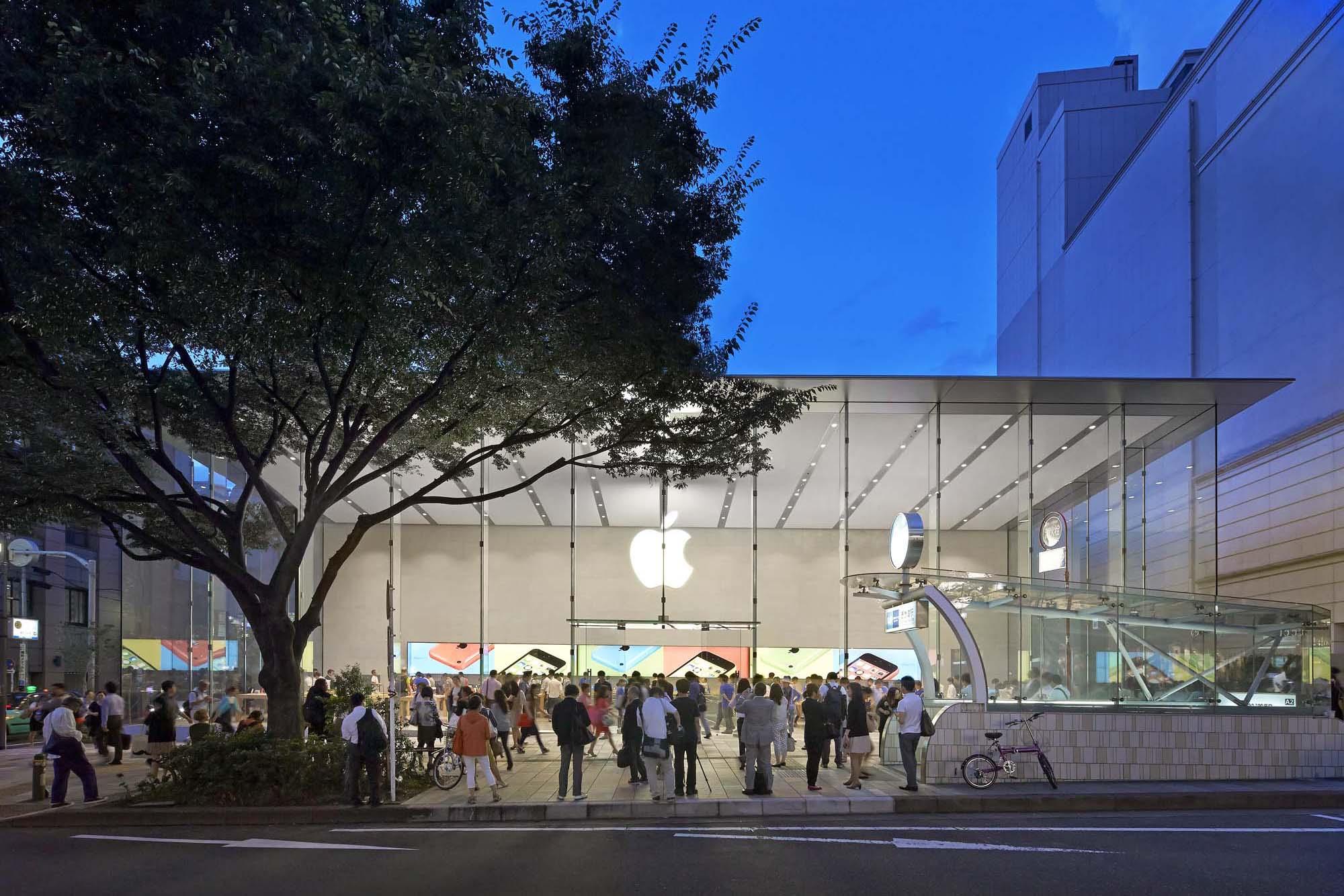 Apple Store Omotesando Architect Magazine Bohlin