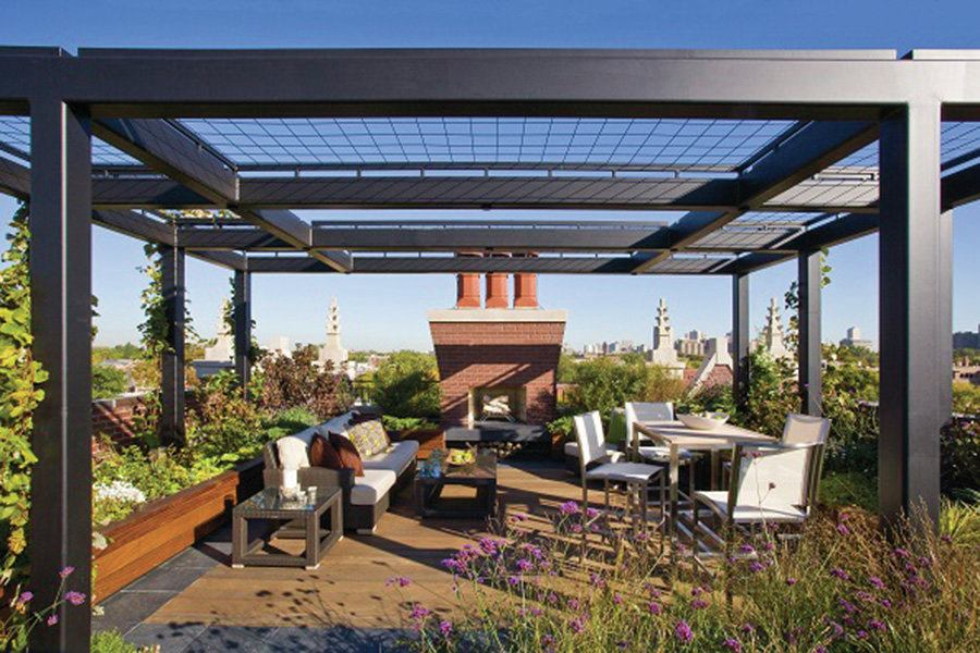 Successful Rooftop Transformation In Chicago Custom Home