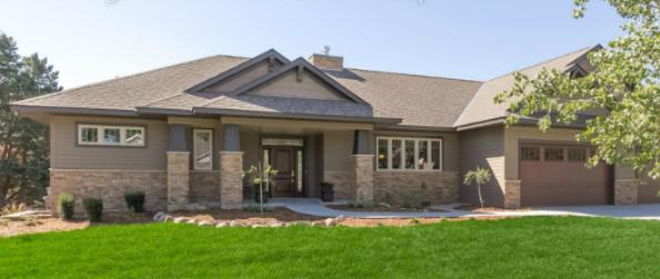 Our model home architect magazine amaris custom homes for John paul greene custom homes