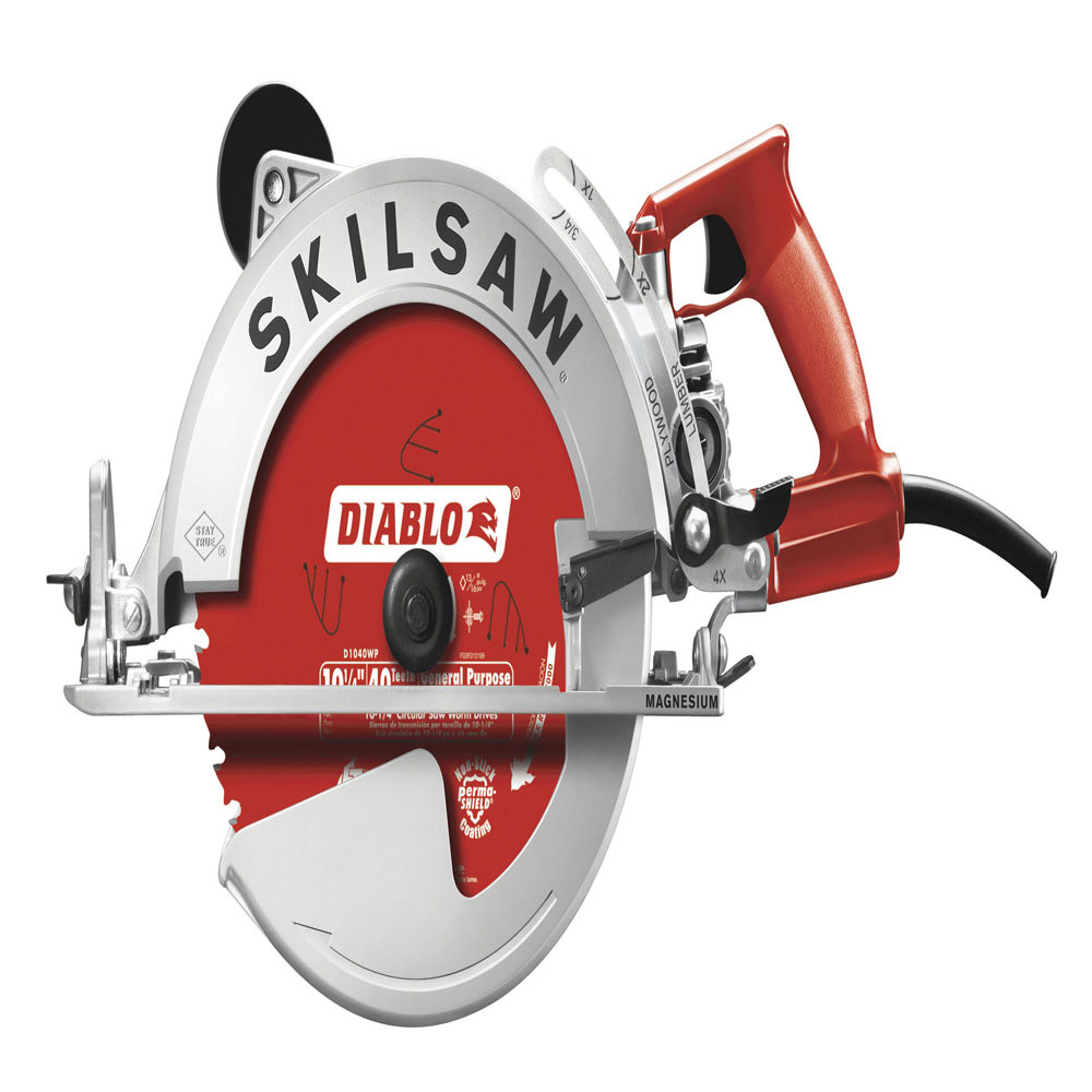 worm drive saw concrete magazine jobsite equipment coring and cutting saws tools and equipment skilsaw
