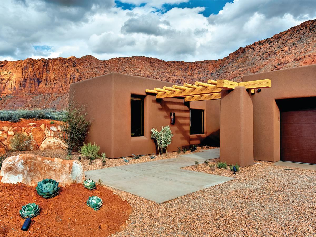 Case Study  Terra Numa Custom Home  St  George  Utah