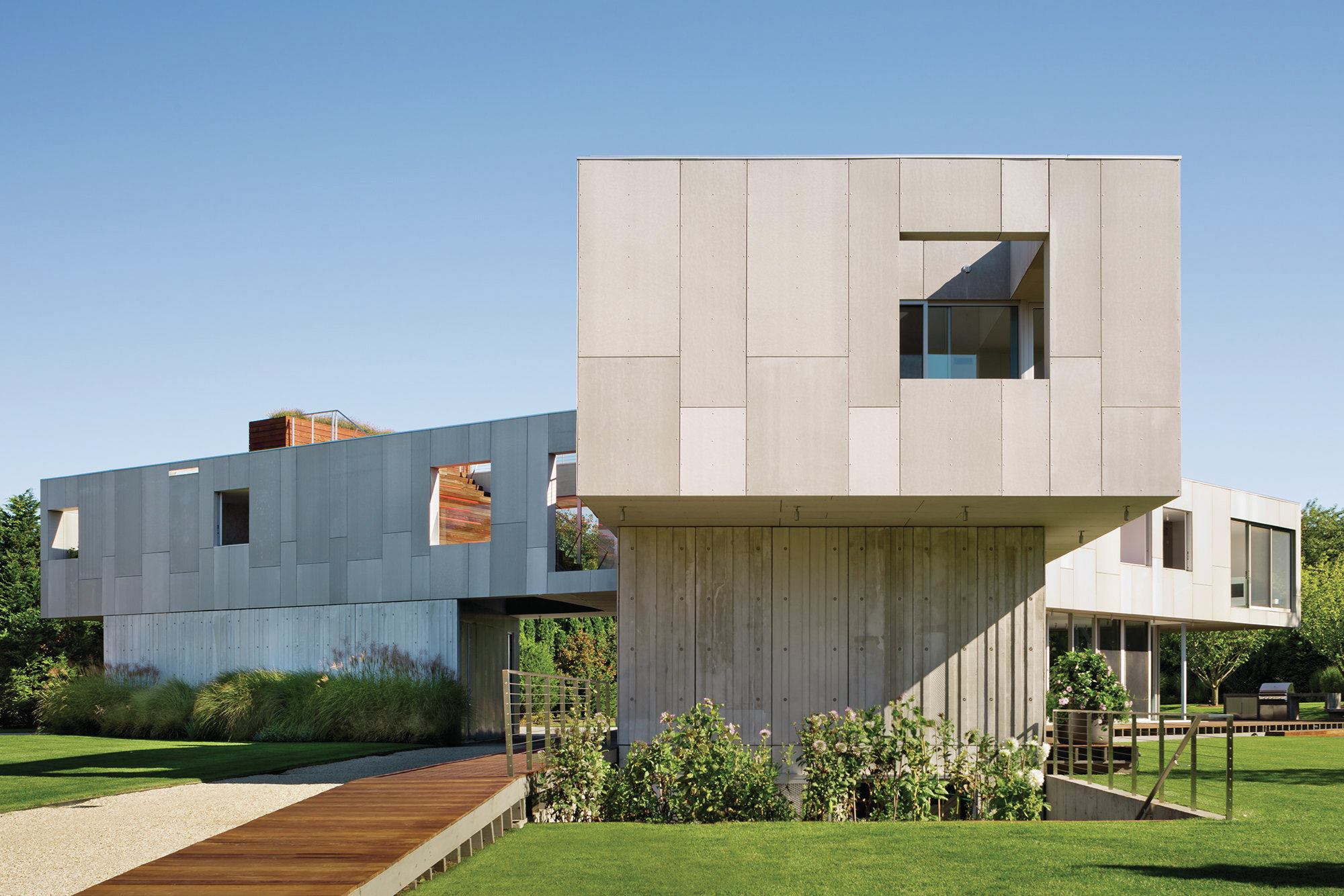 Concrete Construction Residential Architect