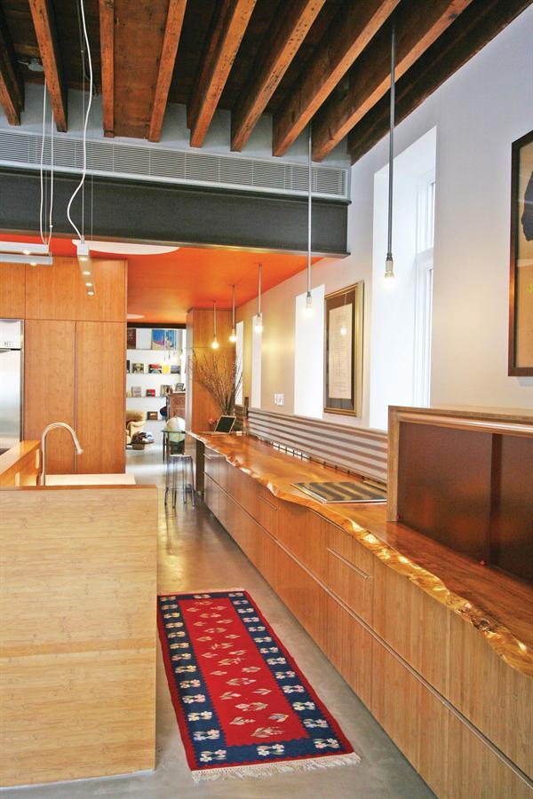 Green Kitchen In A Reborn Schoolhouse Architect Magazine Chicago Il United States Custom