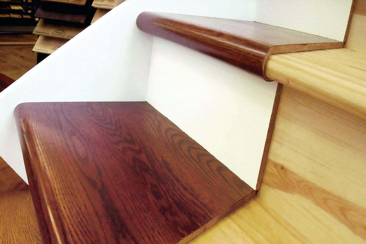 A Step In The Right Direction StareCasing Hardwood Overlay System Remodeling Flooring