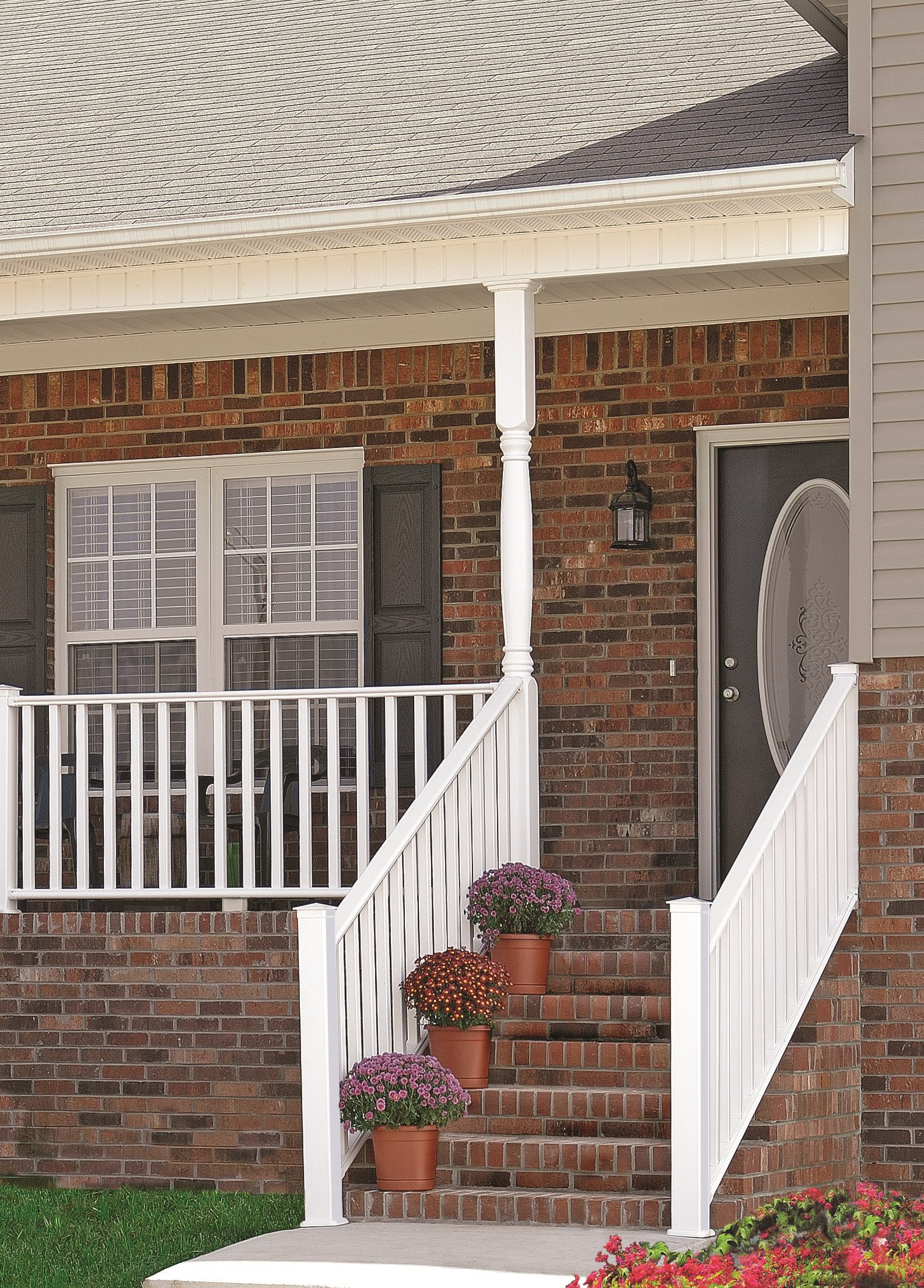 Steep Stair Rail Professional Deck Builder Fencing And