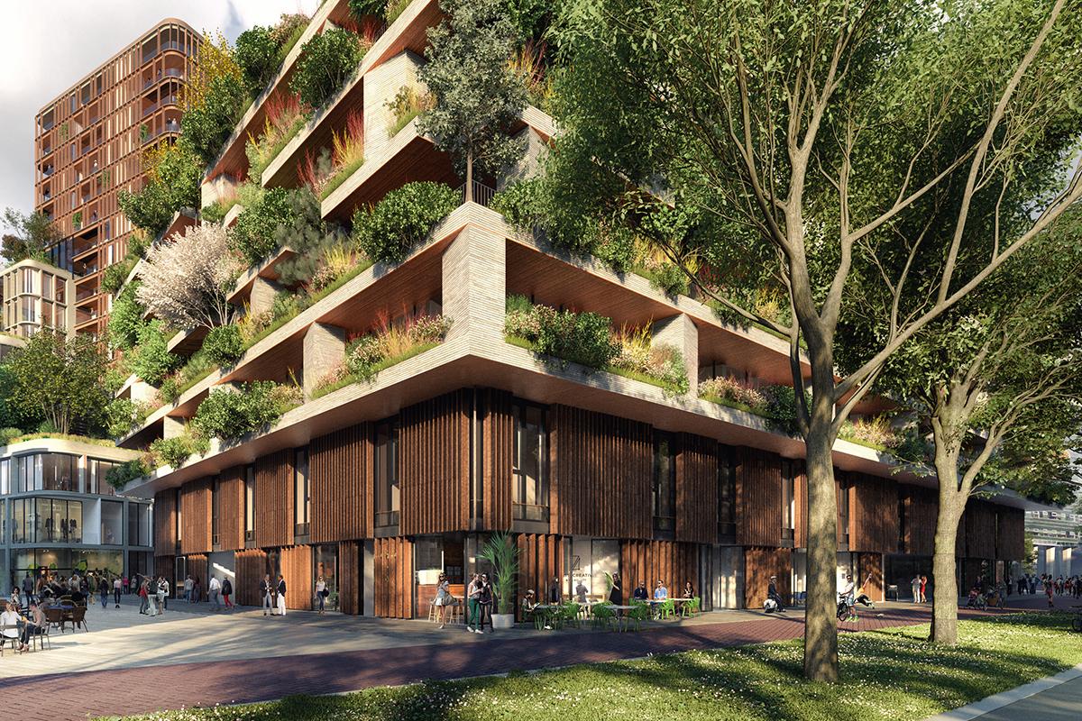 The hawthorn tower architect magazine stefano boeri for Hotel design utrecht