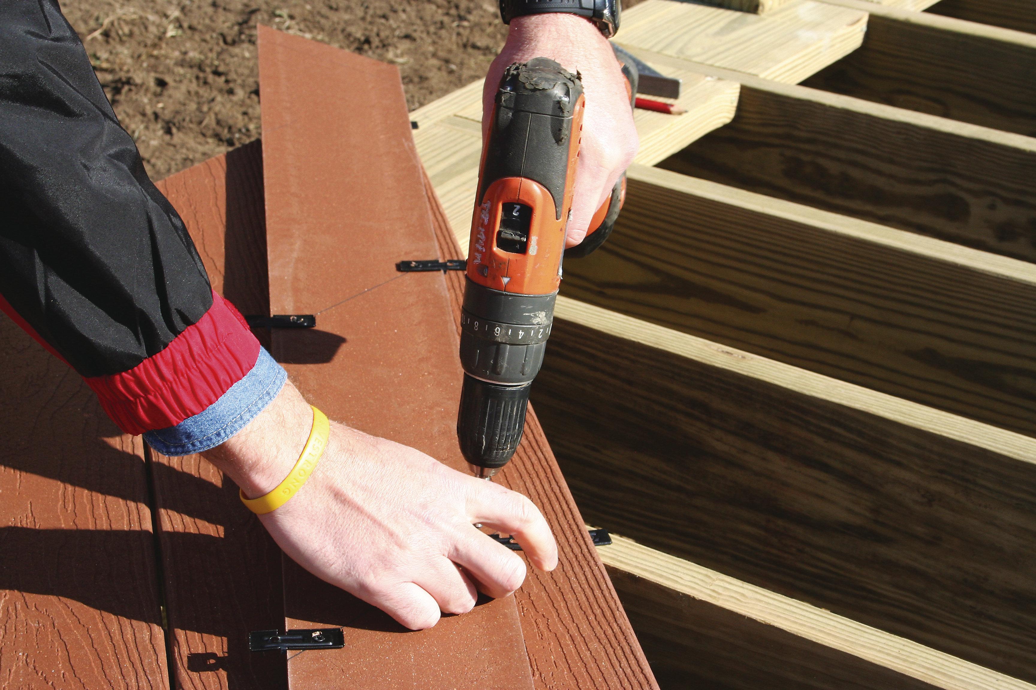 Tamko evergrain eg 1 2 3 hidden fasteners remodeling for Evergrain com