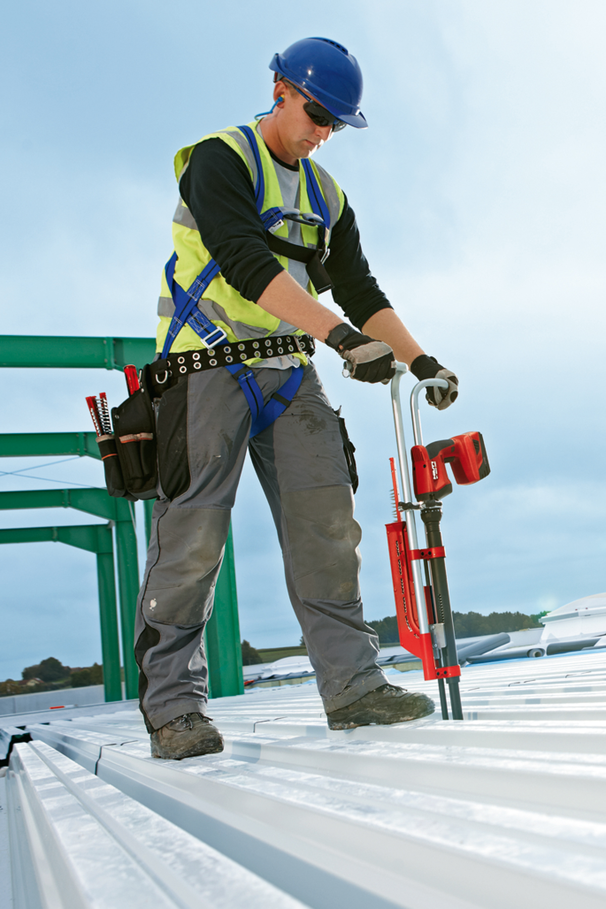 Stand Up Decking Tool System from Hilti| Concrete ...