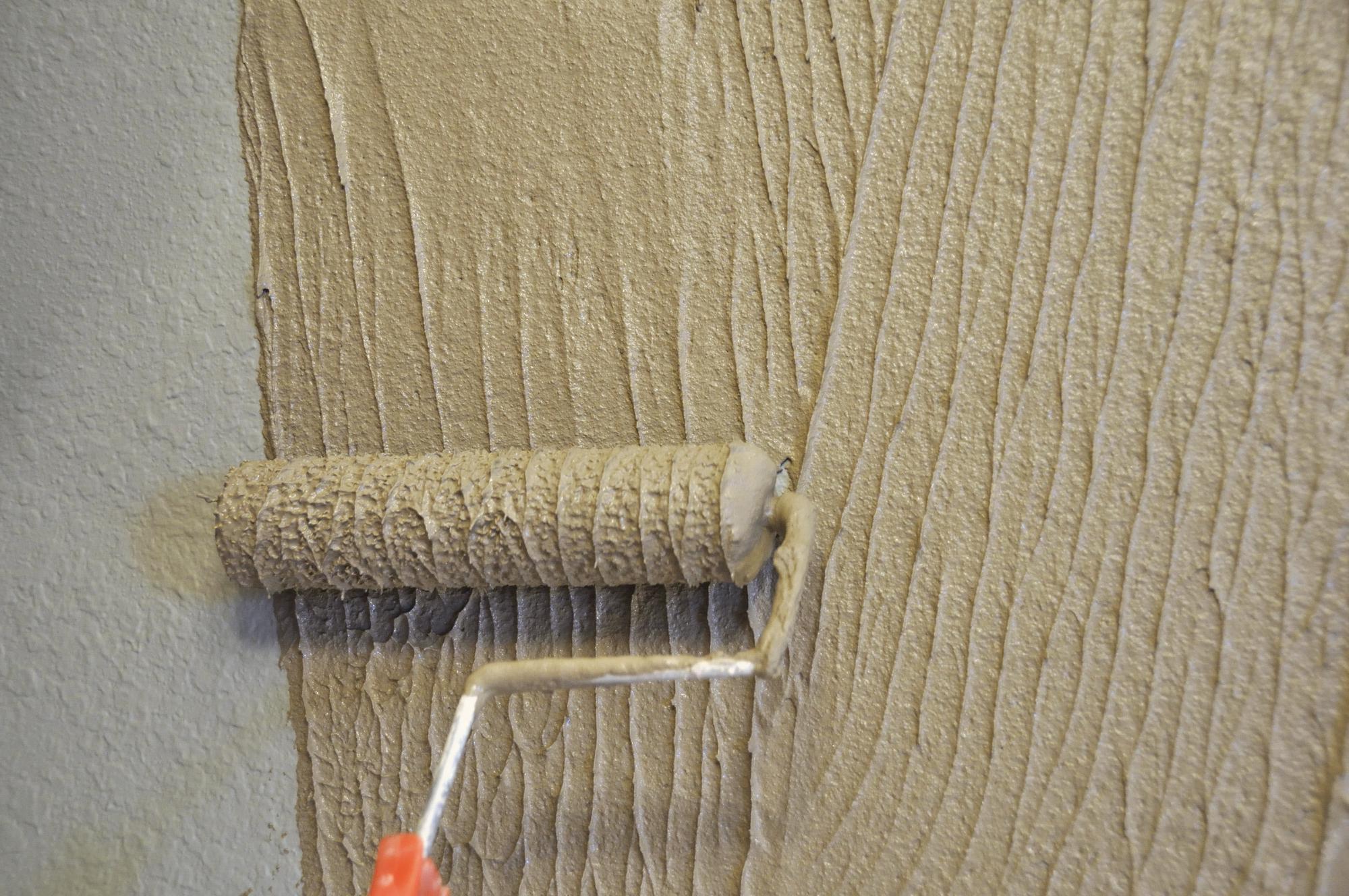8 техник для фактурной отделки стен своими руками 12