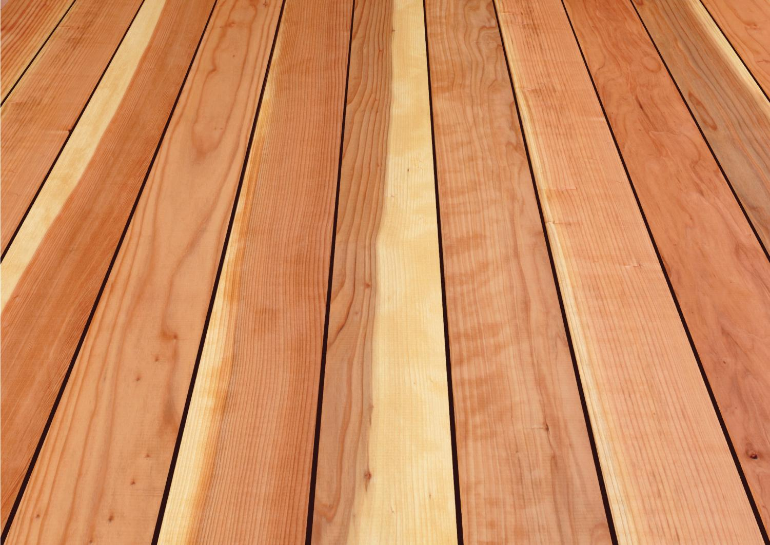 California redwood co heritage collection decking for Longest decking boards