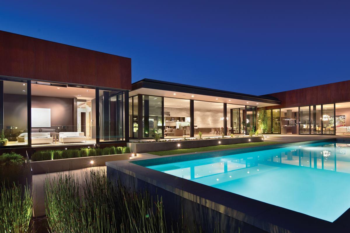 Nightingale residence los angeles residential architect for Residential architect design awards