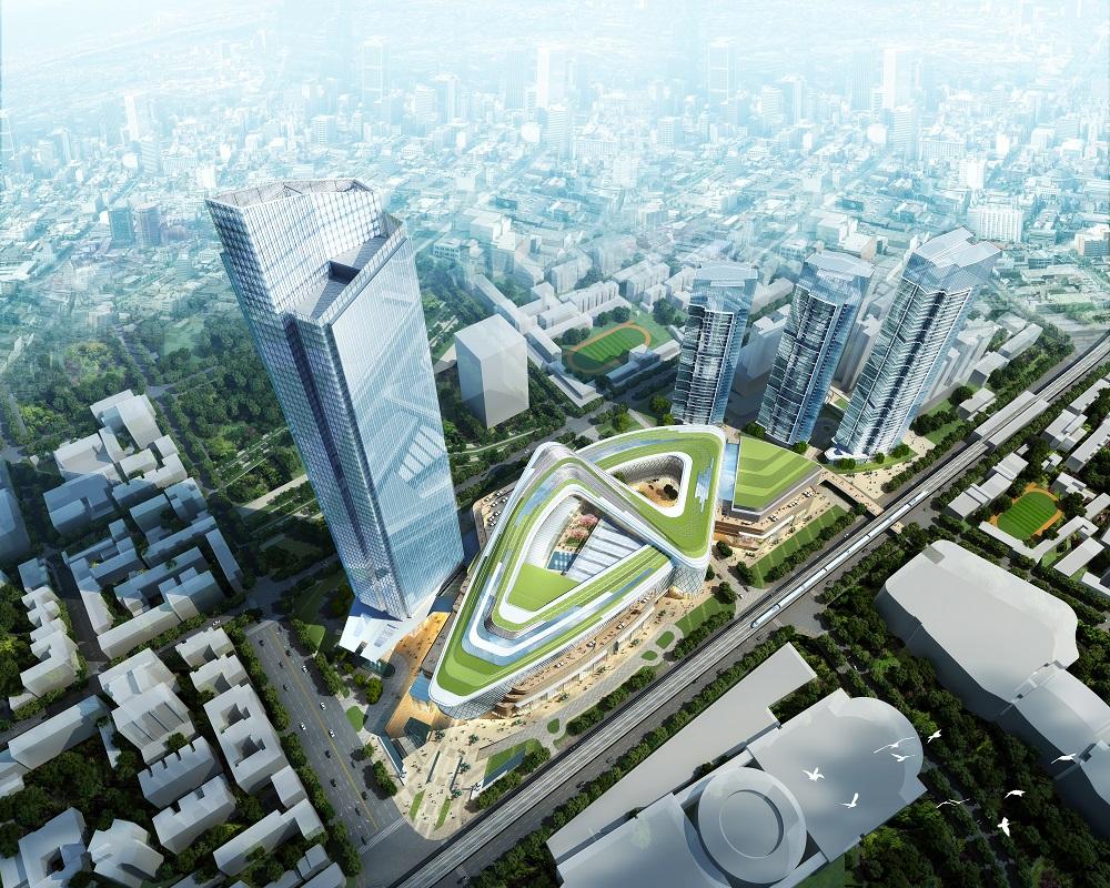 Heartland 66 Architect Magazine Aedas Wuhan China
