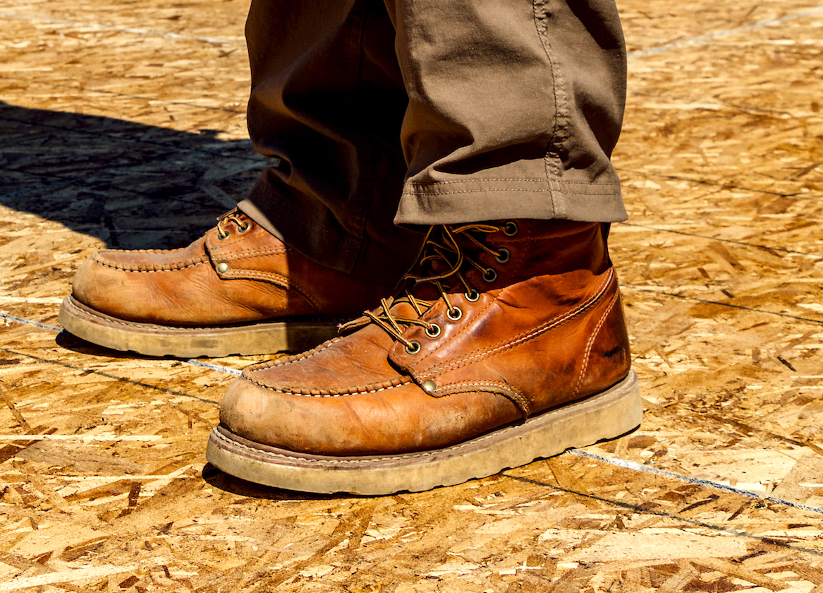 Two Wedge Style Work Boots Tools Of The Trade Work