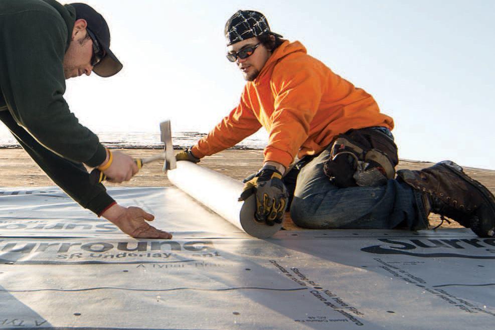 Polymer Roof Underlayment Jlc Online Roof Underlayment
