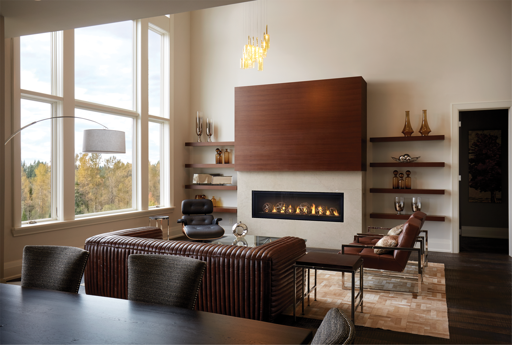 napoleon introduces the luxuria linear hearth series builder