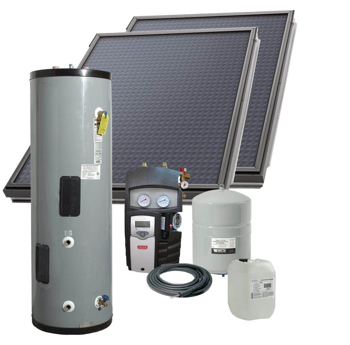 Solar Hot Water System From Velux Ecobuilding Pulse