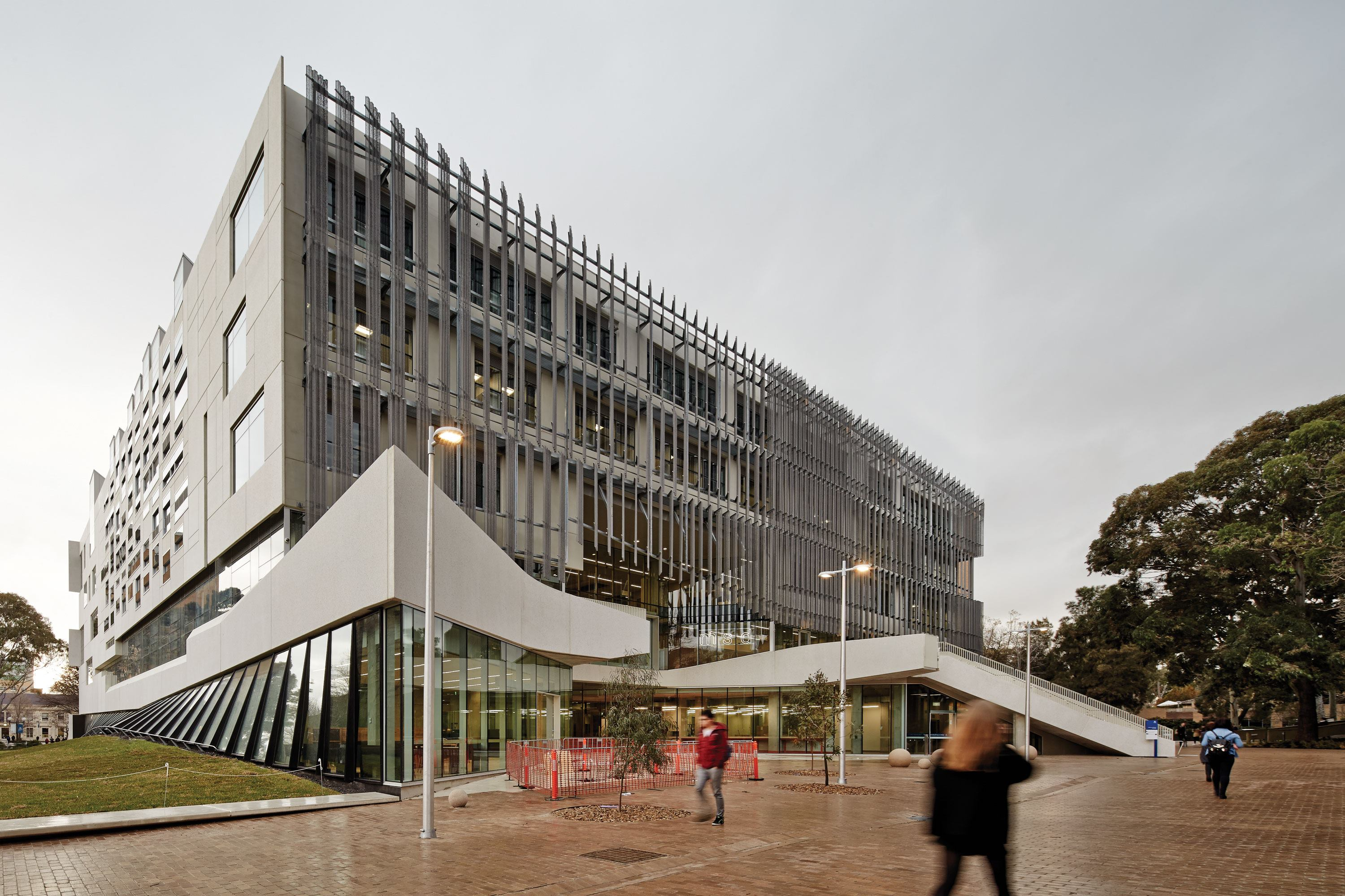 Faculty of architecture building and planning designed for Architects melbourne