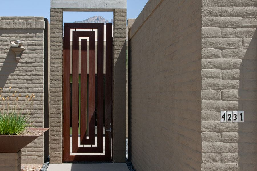 Great Gate In Tucson Builder Magazine Detail Outdoor