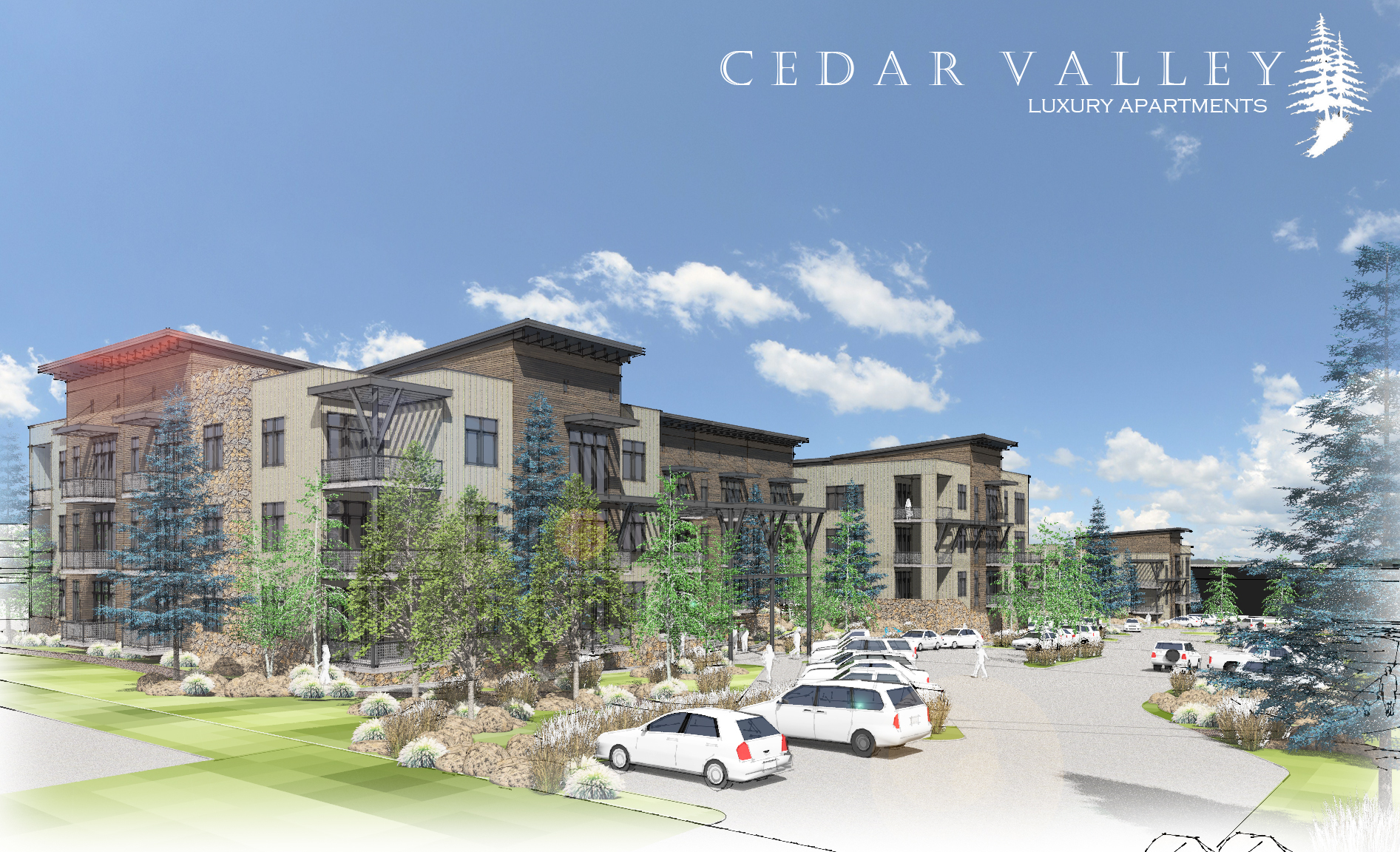 Cedar Valley Apartments Residential Architect