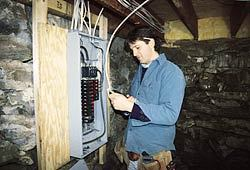 Rewiring Old Houses Jlc Online Walls Tools And