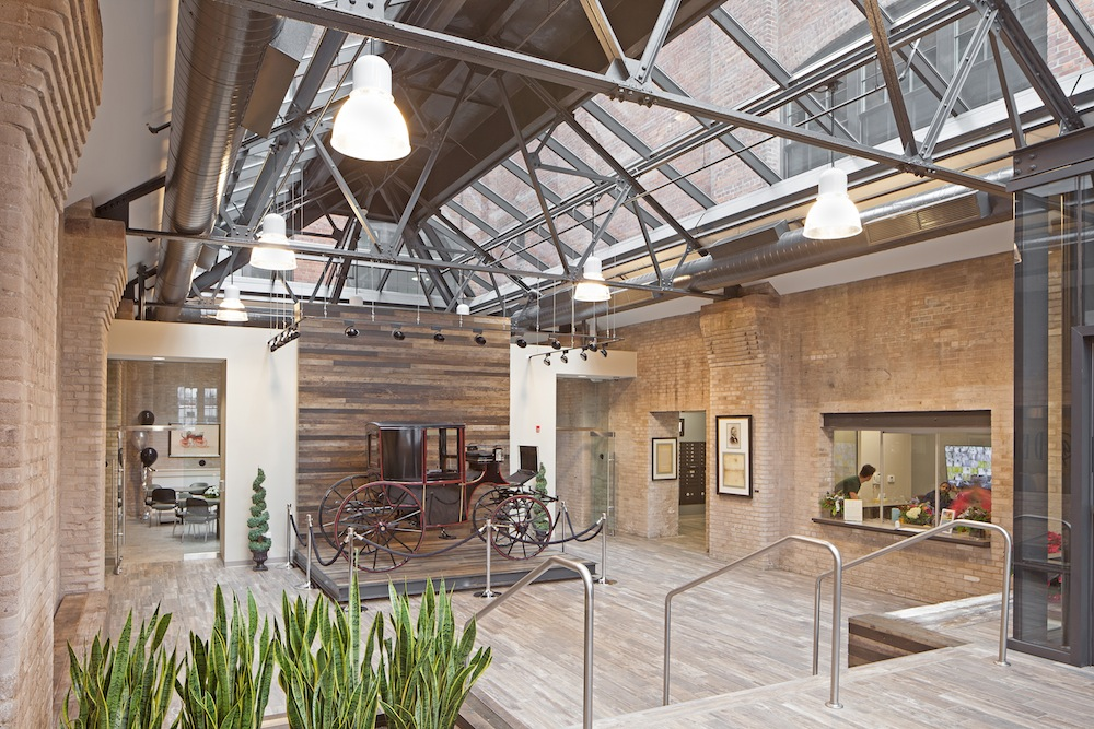 Rochester Manufacturing Factory Becomes Apartments