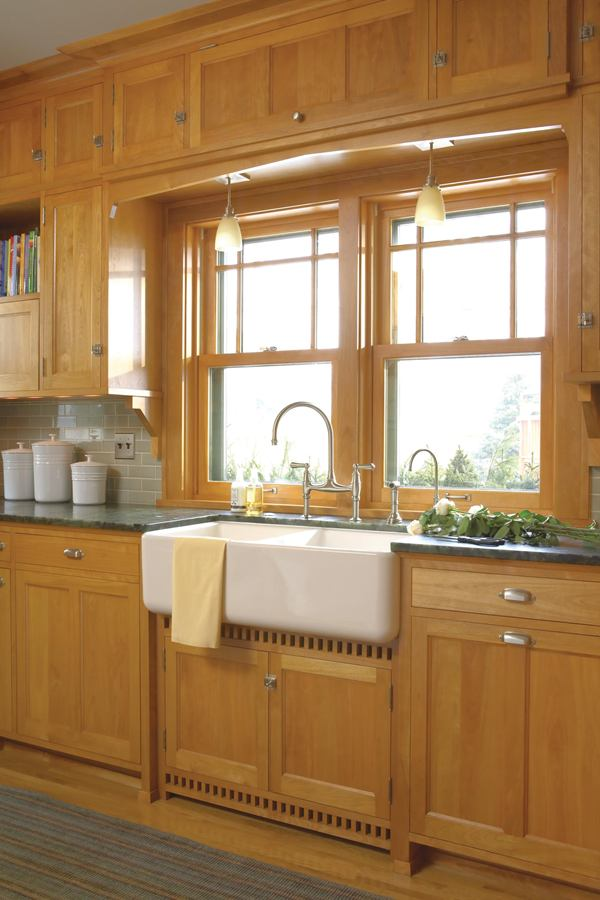Prairie school companion a 1920s kitchen gets custom for 1920s kitchen remodel