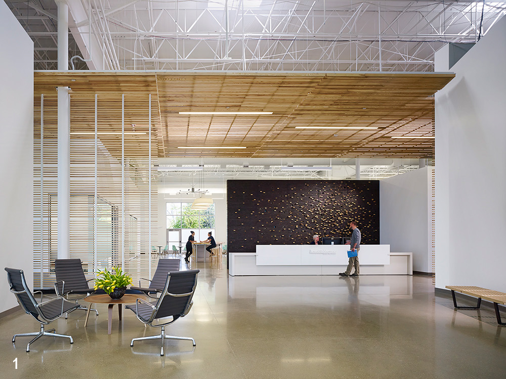 Newell Rubbermaid Design Center | Architect Magazine | Byce U0026 Associates ,  Perkins+Will, Kalamazoo , MI, Institutional, Education, 2015 AIA Chicago  Design ...