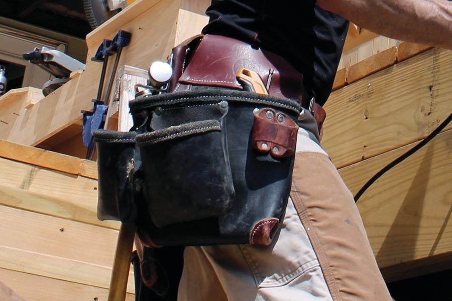 Occidental Leather Toolbelt Professional Deck Builder
