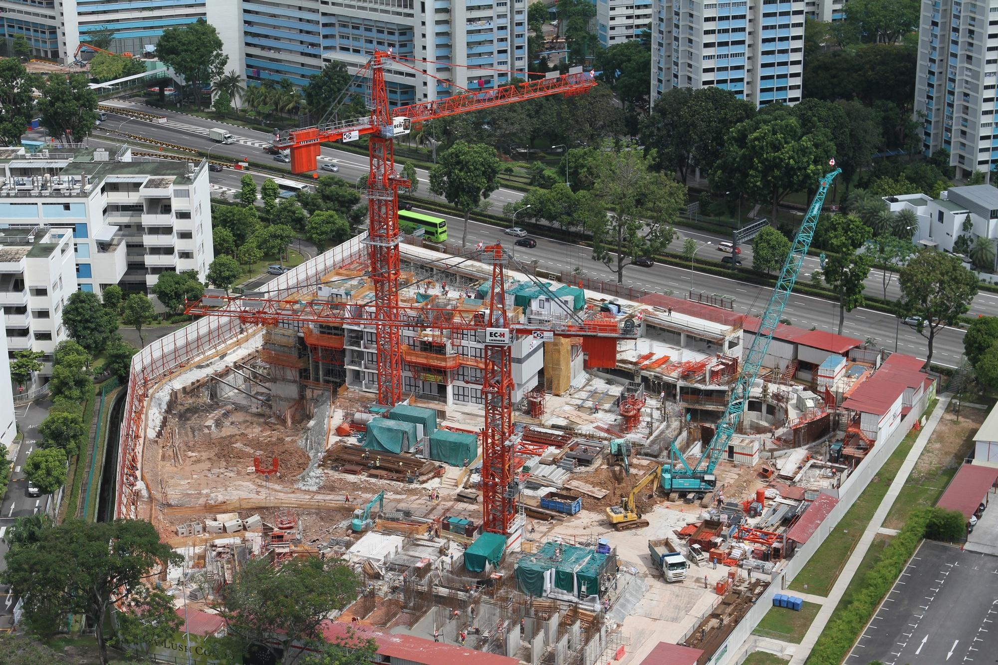 The Clement Canopy Singapore Concrete Construction