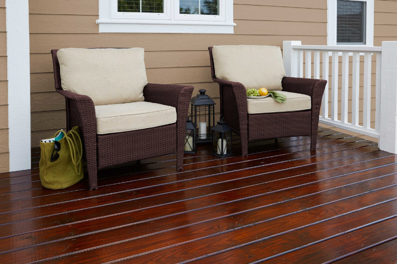 Cabot Gold Exterior Gives Outdoor Wood A Furniture Finish | JLC Online |  Decks, Paints, Exteriors, Outdoor Rooms, Cabot, Valspar