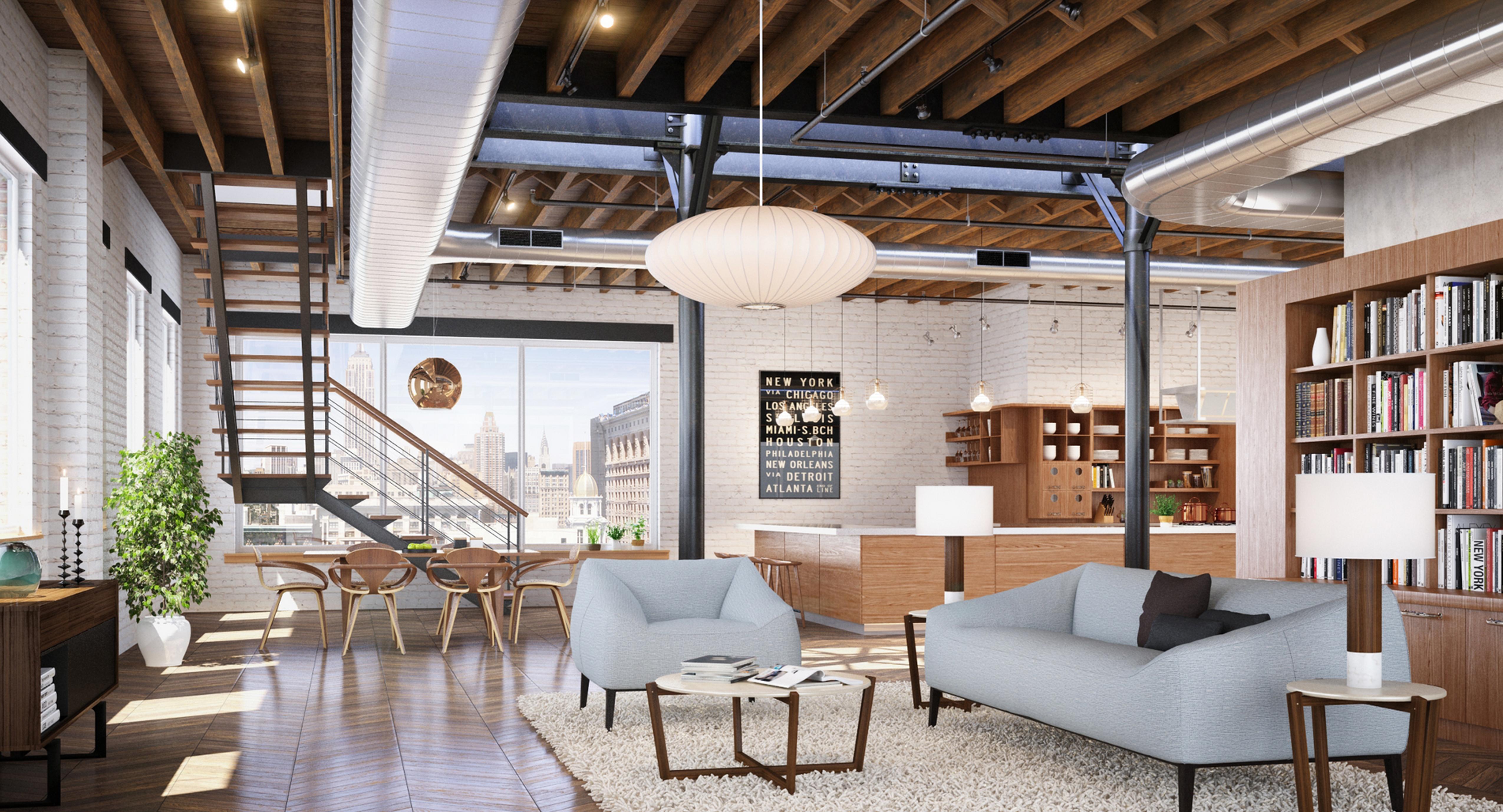Loft Residence Architect Magazine D Form New York