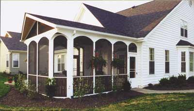 Building Screened Porches Jlc Online Composite