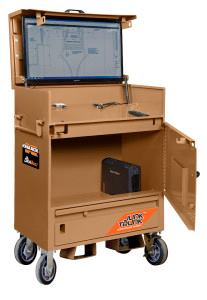 Tech-Savy Jobsite Storage from Knaack | Tools of the Trade ...