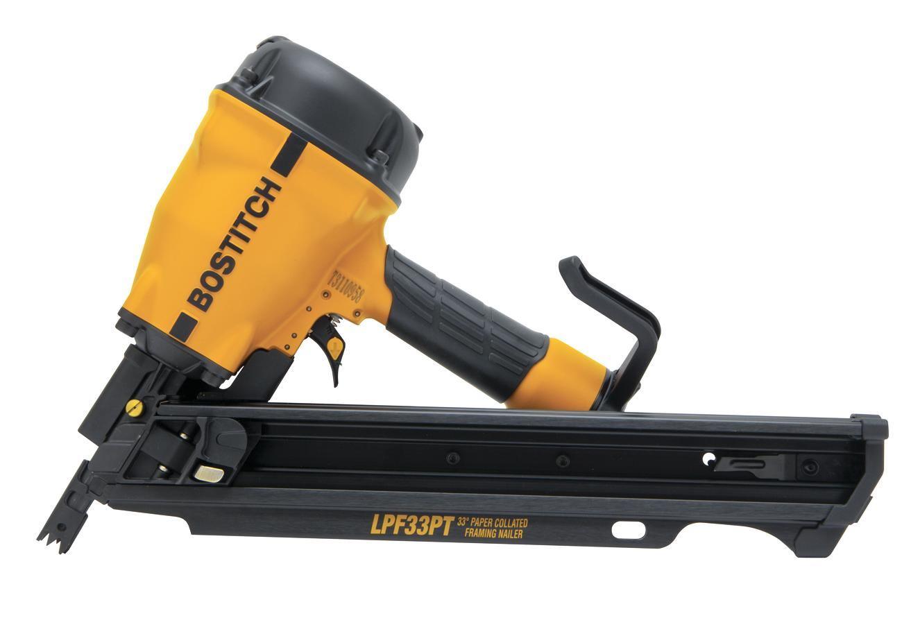 Bostitch Lpf33pt Framing Nailer Professional Deck