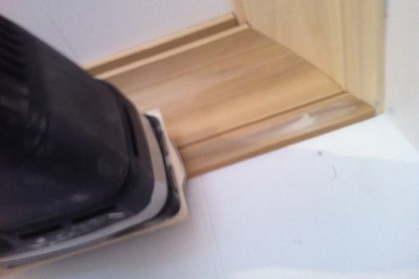 How To Power Sand Crown Molding And Custom Trim Prep Jlc