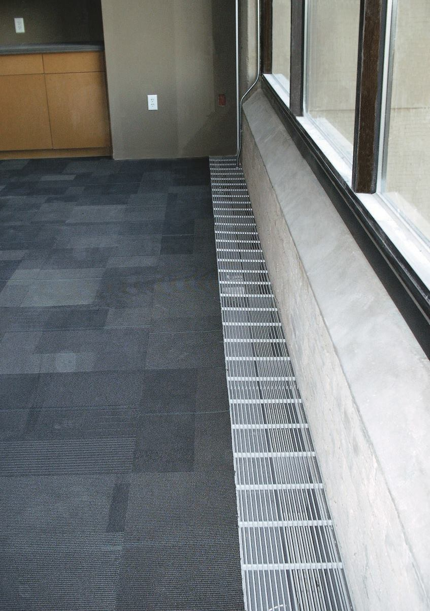 perimeter trough from tate access floors architect