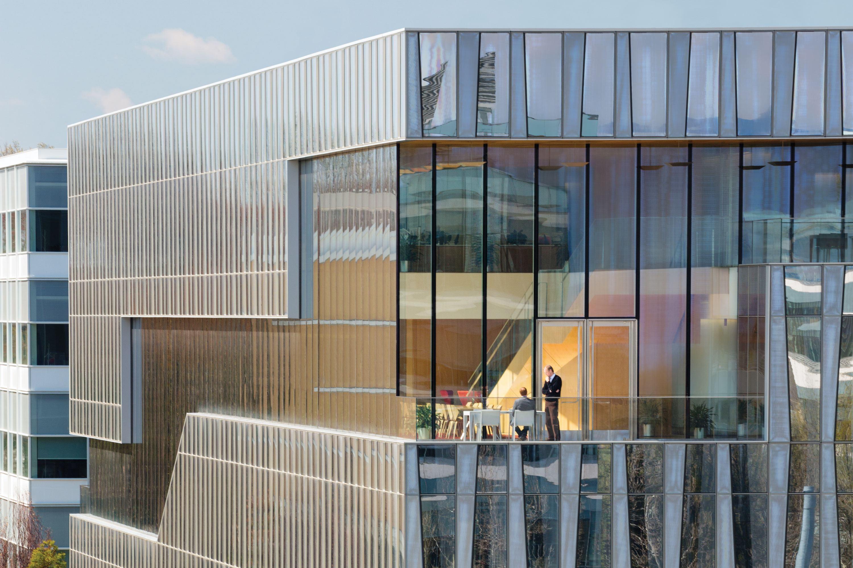 Novartis Office Building 335 Architect Magazine Office Projects Structur