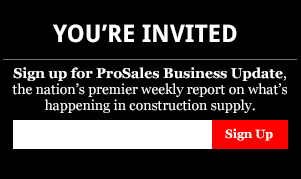 ProSales newsletter signup