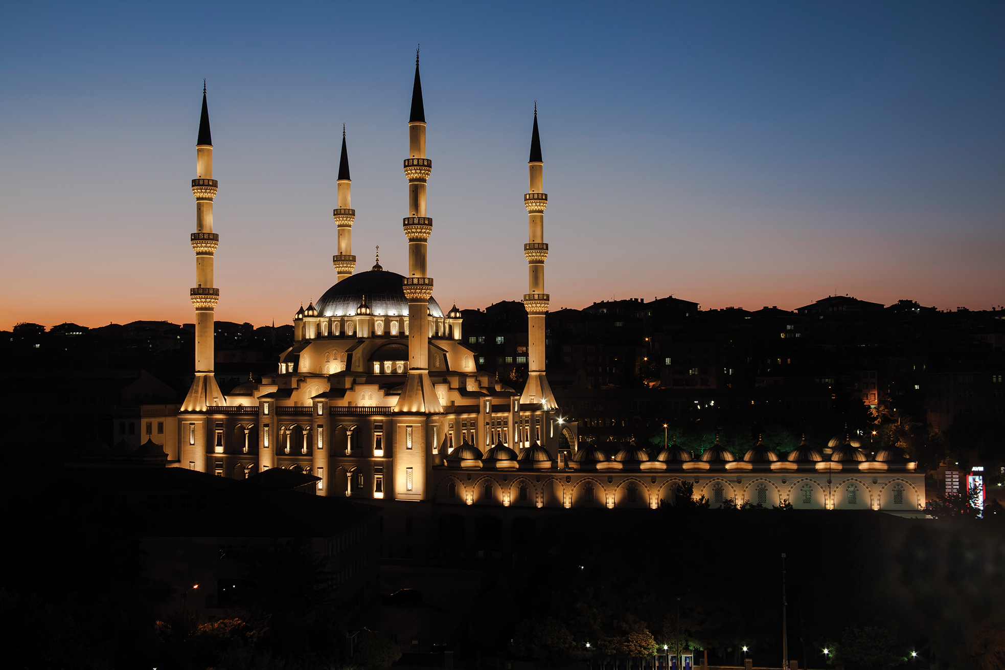 2016 al design awards kirikkale merkez nur mosque for Mosque exterior design
