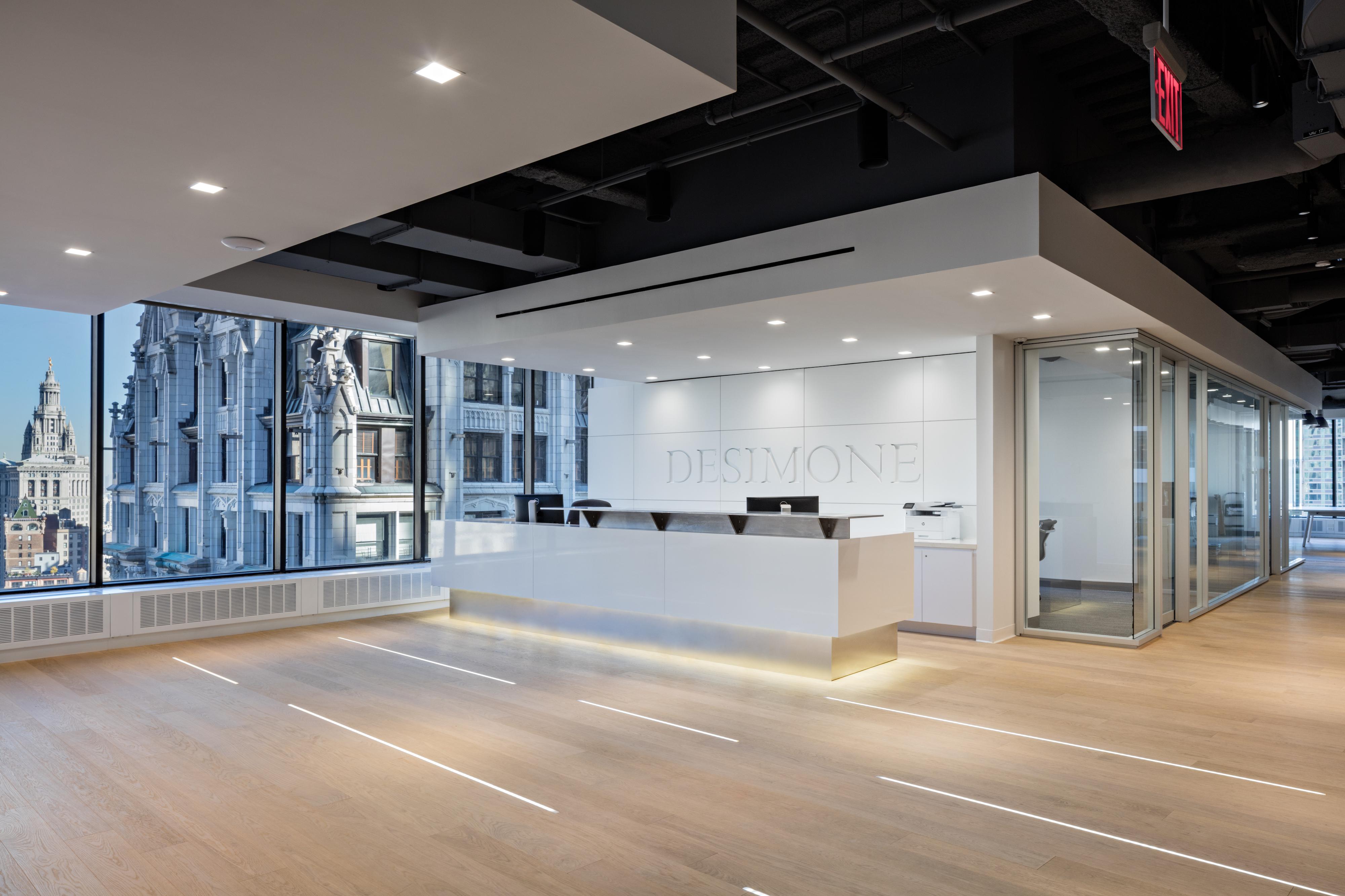 Desimone consulting engineers 39 new york city headquarters for Modern design consulting engineering office