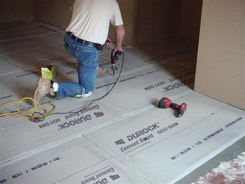 Usg Durock Next Gen Cement Board Remodeling Drywall