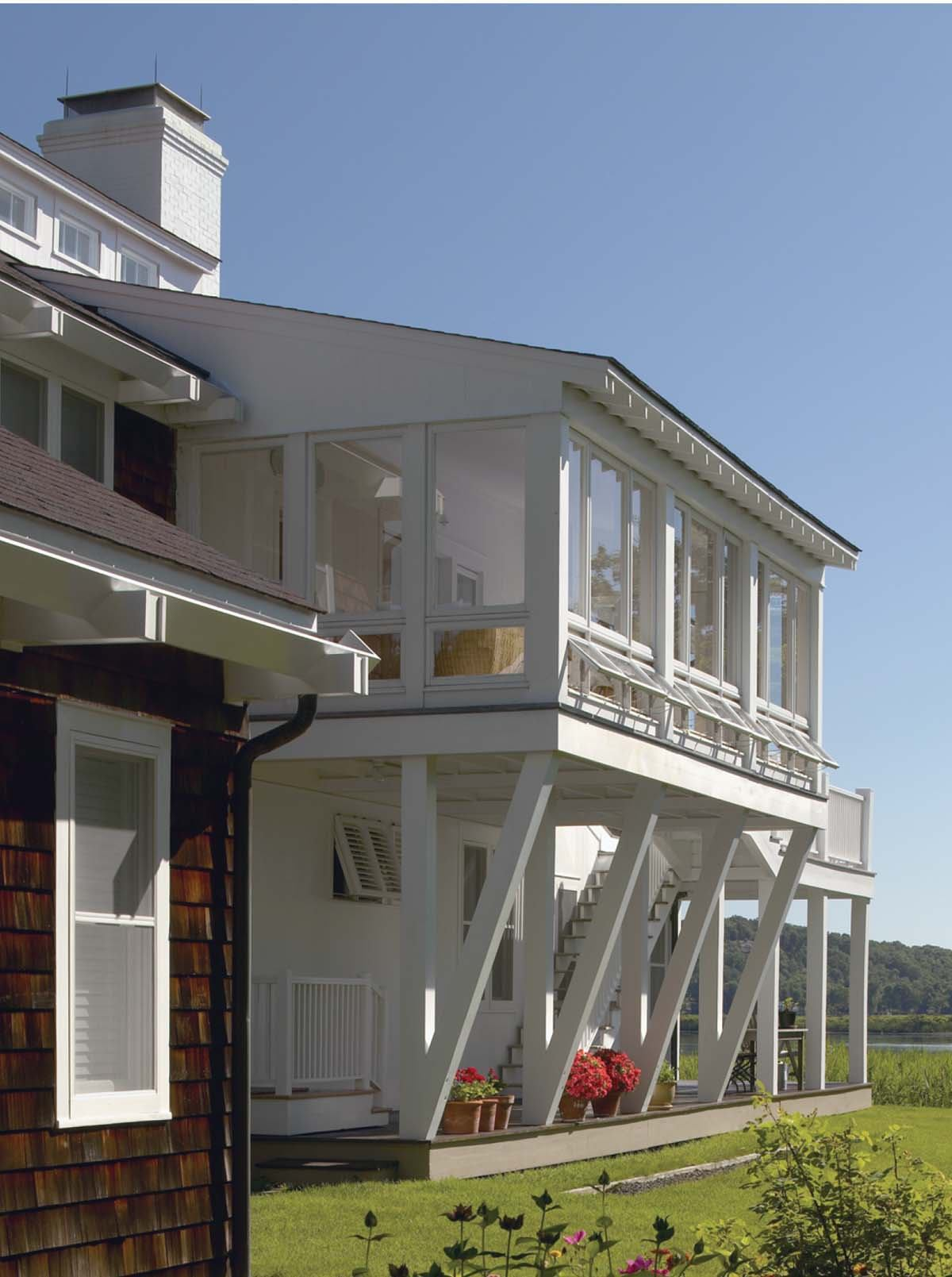 House on the connecticut river essex conn residential for Residential architect design awards