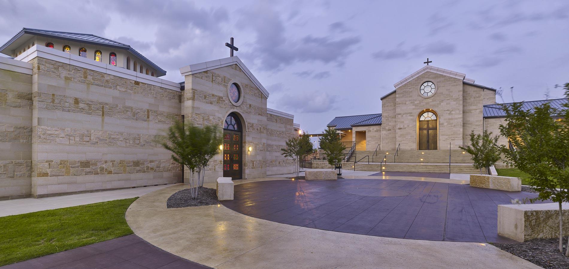 St francis of assisi catholic church architect magazine for Smr landscape architects