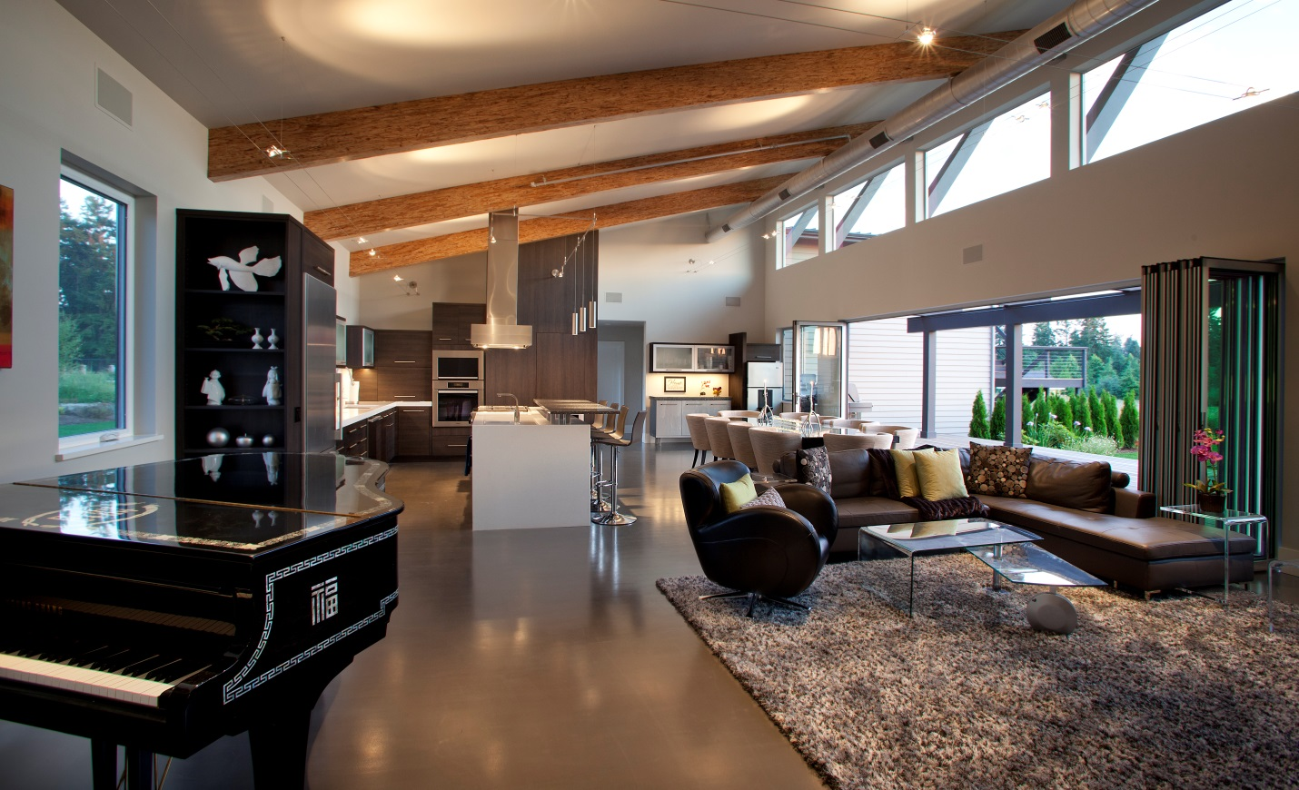 Nw Contemporary Custom Kitchen Residential Architect