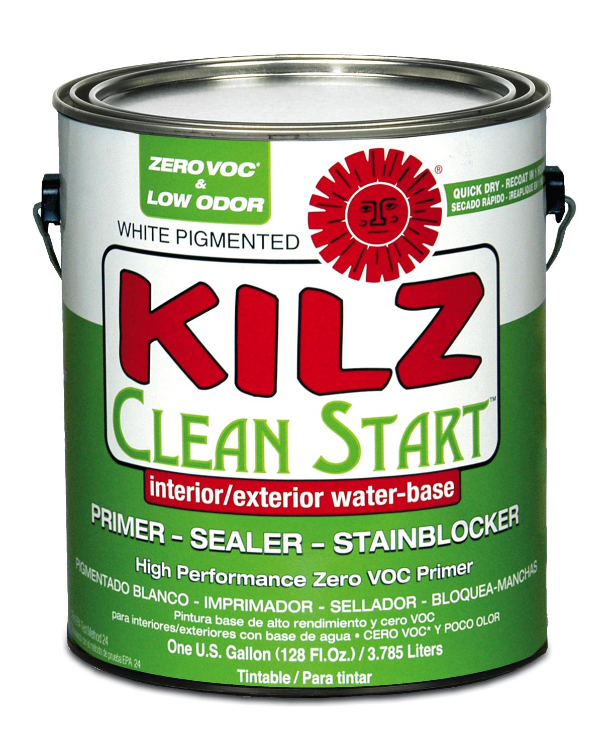 Masterchem Industries Kilz Clean Start Primer Remodeling Paints Walls Interiors Indoor